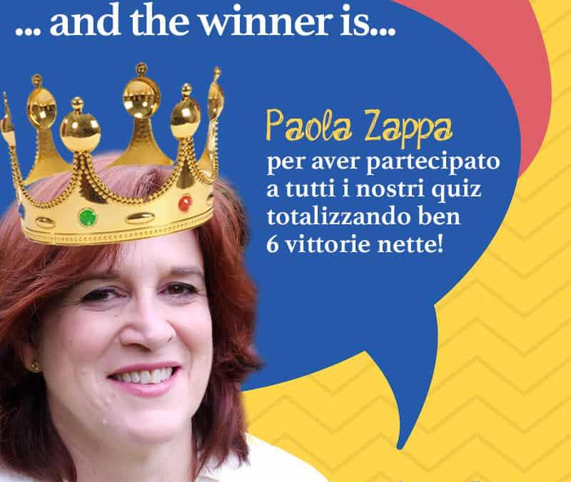 Intervista a Paola Zappa, vincitrice del nostro quiz!